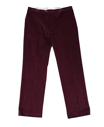 (Lauren by Ralph Lauren Mens 30X30 Corduroys Stretch Pants Red 30)