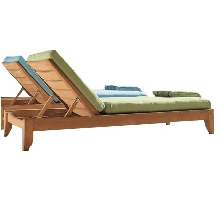 New Grade A Teak Multi Position Sun Chaise Lounger Steamer – Furniture only — Atnas Collection #WHCHAT