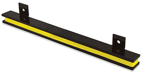 Master Magnetics AM2PLC Magnetic Tool Holder, 13'' Wide, 20 lb per inch, Black Powder Coat with Yellow Stripe by Master Magnetics