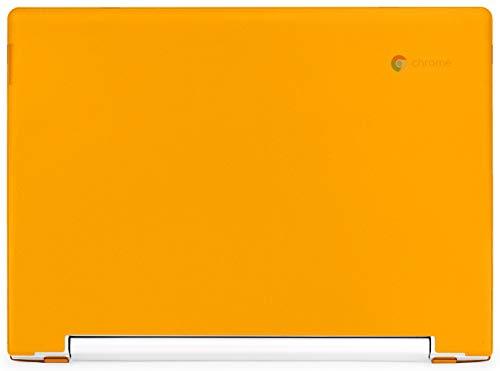 mCover Hard Shell Case for Late-2018 11.6 Lenovo C330 Series Chromebook Laptop (NOT Fitting Lenovo N21 N22 N23 N24 100E 300E 500E Flex 11 Yoga 11e Chromebook) (LEN-C330 Orange)