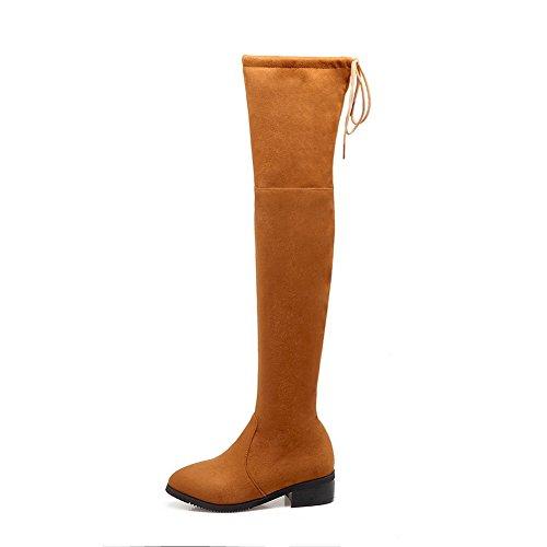 BalaMasa  Abl09370, Sandales Compensées femme - Jaune - jaune,