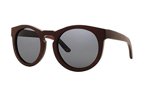 Earth Wood Women's ESG032R Wildcat Sunglasses, - Wood Wild Sunglasses