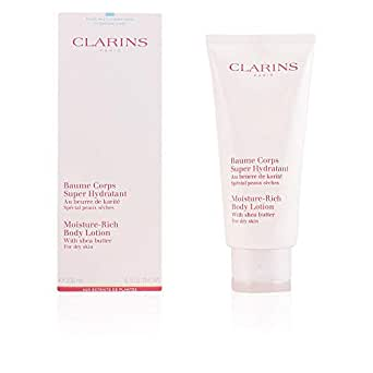 Clarins Moisture Rich Body Lotion with Shea Butter (Dry Skin), 200 ml