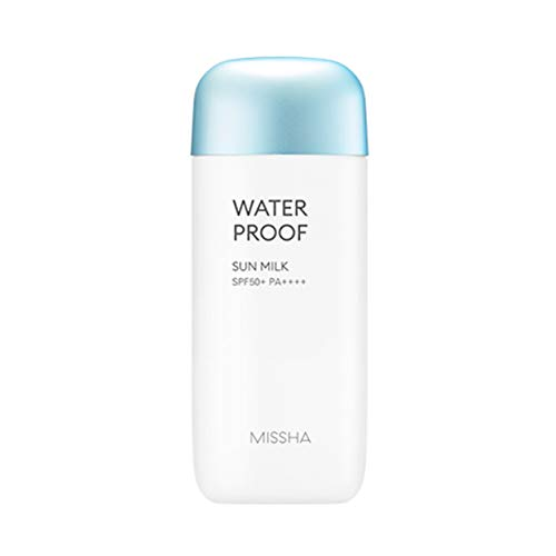 MISSHA All-around Safe Block Waterproof Sun Milk SPF50+ PA++++ 70ml (2018 Renewal) (Missha All Around Safe Block Waterproof Sun)