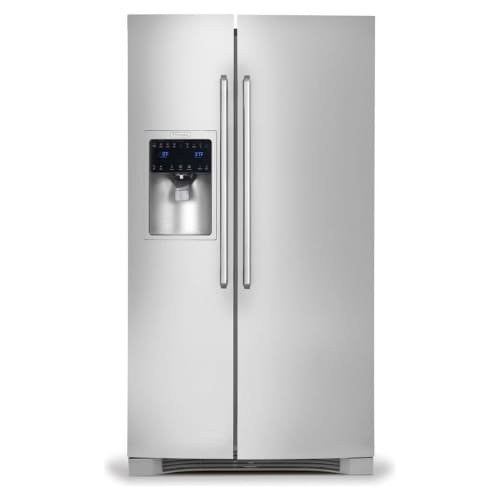 Electrolux EI23CS65KSIQ-Touch 22.6 Cu. Ft. Stainless Steel Counter Depth Side-By-Side Refrigerator - Energy Star Counter Depth Side