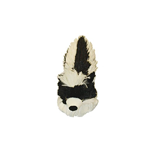 Multipet Bouncy Burrow Buddies Babies Skunk Small Dog Toy, 8
