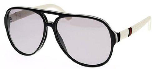 Gucci Unisex Adult Aviator Sunglasses in Blue Rubber GG 1065/S 4UV 59