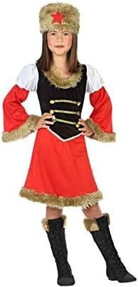 Atosa-56816 Disfraz Rusa, Color Rojo, 10 a 12 años (56816): Amazon ...