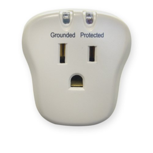 - eDragon Surge Protector, 1 Outlet, 540 Joules with EMI/RFI filter Computer Surge Protector, (ED70340)