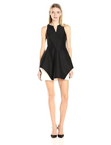 halston-heritage-womens-sleeveless-organic-notch-neck-color-blocked-dress-black-chalk-4