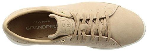 Cole Mens Haan Grandpro Moda Tennis Sneaker Nubuck Zucchero Dacero
