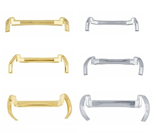 14k White/Yellow Gold Filled Metal Ring Guard - Small Medium Large (Pack of 3) (14k Smooth Ring)