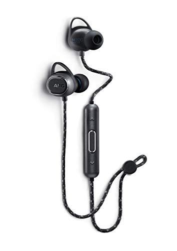 AKG N200 Wireless Bluetooth Earbuds - Black (US Version) (Renewed)