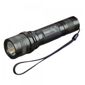 Fandyfire P03 Q5 WC 5-Mode 248-Lumen White LED Flashlight with Strap