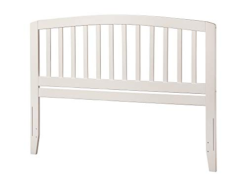 Atlantic Furniture AR288842 Richmond Headboard, Queen, White