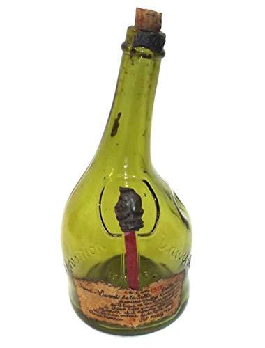 (1937 Vintage Exposition Universelle Paris Saint-Vivant de la Salle Armagnac Bottle)