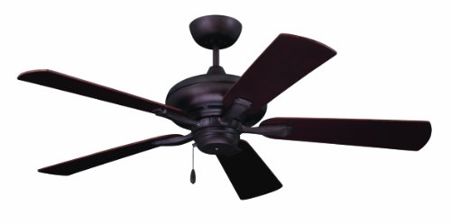 Emerson Ceiling Fans CF772ORB Monterey II 52-Inch Indoor Ceiling Fan, Light Kit Adaptable, Oil Rubbed Bronze Finish