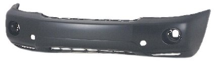 OE Replacement Toyota Highlander Front Bumper Cover (Partslink Number TO1000278)