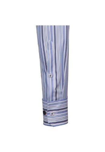 Seidensticker -  Camicia classiche  - A righe - Con bottoni  - Maniche lunghe - Uomo