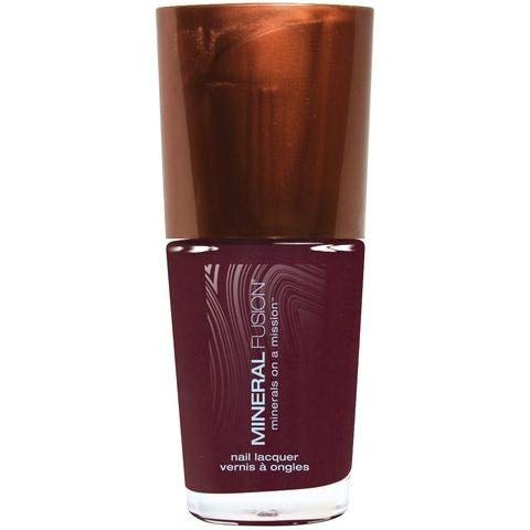 MINERAL FUSION Nail Polish Pretty In Plum, 0.33 Ounce