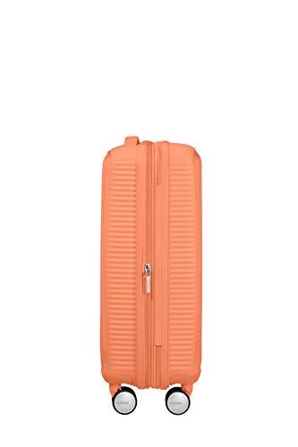 American Tourister Soundbox - Spinner S Espandibile Bagaglio a Mano, 55 cm, 35.5/41 L, Arancione (Cantaloupe) 4 spesavip