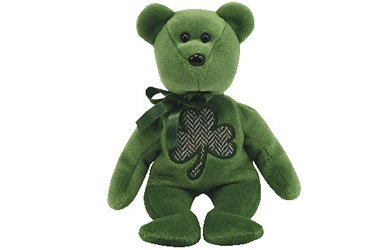 Ty Beanie Babies 2.0 Luckier:  St. Patrick's Day bear