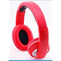 Gain Classic Style Over-Head Stereo Headphones Hands-Free Headset with Microphone for Panasonic Lumix CM1 - Red + MYNETDEALS... dispense