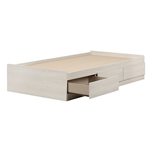- South Shore 11953 Mates Bed with 3 Drawers Fynn Twin, 39