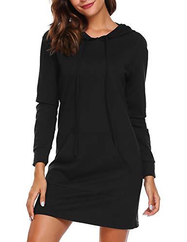Zeagoo Women's Sweatshirts Long Sleeve Pockets Pullover (Pocket Detail Long Sleeve)