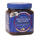 100% RAW UMF 16+ ACTIVE MANUKA HONEY 1.1lb by Haddrell's of Cambridge