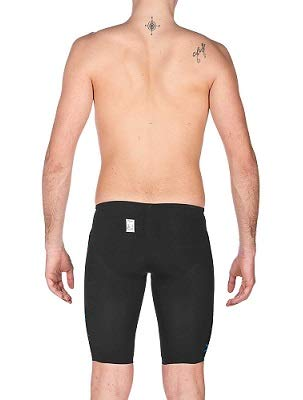 Arena Swim Mens Powerskin Carbon Air Limited Edition Jammer, Blck/Brght Red - 30