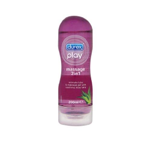 Durex Play 2 in 1 Romantic Massage 200 Ml. 1 Pcs. (Durex Play Lubricants)