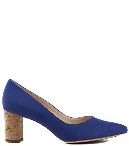 Con Peter 5 Tacón Talla Azul Eu Color 35 Kaiser Cerrada De Zapatos Mujer Punta qIBI1r