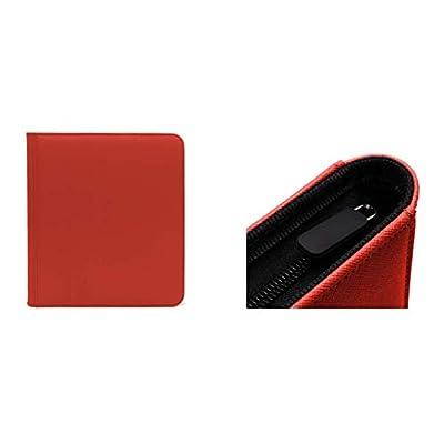 Binder: Dex Zipper 12-Pocket Red: Toys & Games