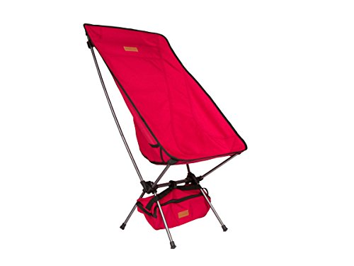 Trekology YIZI HIGH BACK Portable High Back Camping Chair...