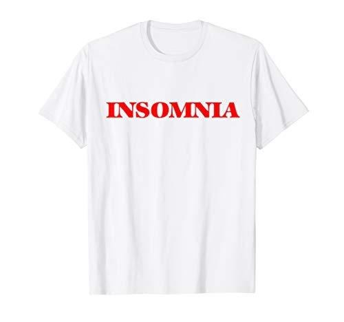Insomnia sleep tee pajama T-Shirt