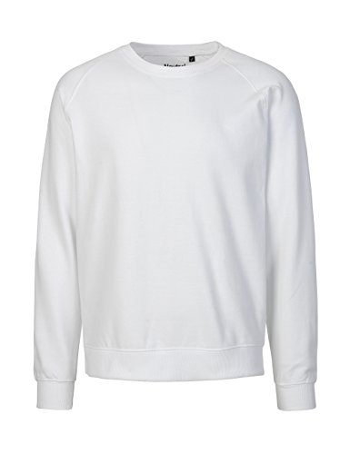 NEUTRAL Sweatshirt Unisex, 100% Organic Cotton, Fairtrade and Oeko-TEX Certified, Color White, Size - 100 Cotton Sweatshirts