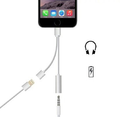 2-in-1-Lightning-Adapter-for-iPhone-7-7-Plus-Comoxi-Lightning-Charger-and-35mm-Earphone-Stereo-Jack-Cable-Adapter-No-Music-Control-for-iPhone-77-Plus6s65s5