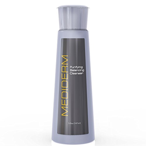 Mediderm Balancing Foaming Cleanser - Oil Free Facial Wash that Cleans, Softens and Clears The Skin, Removes Make Up and Impurities - 100% Paraben - Face Foaming Suki Cleanser