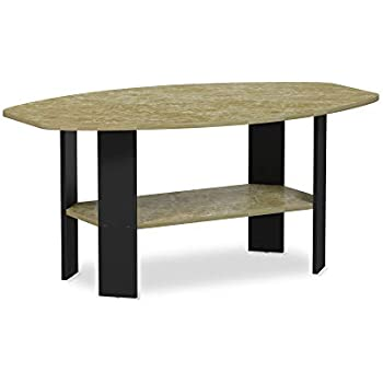 Amazon.com: Mesa de centro de diseño simple Furinno ...