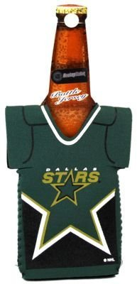 DALLAS STARS NHL BOTTLE JERSEY KOOZIE COOLER (Stars Dallas Purse Jersey)