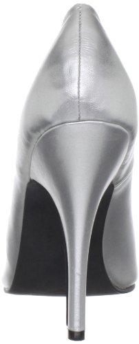 Pleaser Seduce-420v, Zapatos de Tacón para Mujer Plateado (Silver)