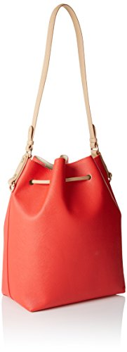 TRUSSARDI JEANS by Trussardi 75bp0453 - bolso cubo Mujer Multicolore (Red/White)
