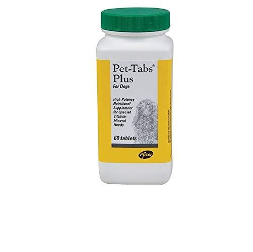(Pet-Tabs Plus Advanced Formula Vitamin Supplement 60 Chewable Tablets)