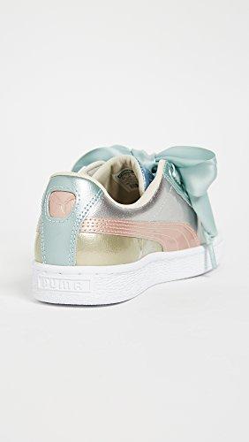Puma Da Donna Cesto Cuore Bauble Sneakers Argento