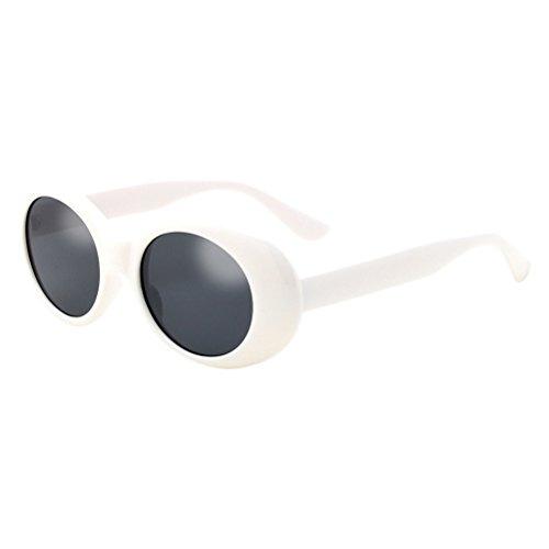 0be1aebd66 Zhhlaixing Retro Womens Sunglasses Forma Oval Calidad Gafas de Sol De las Mujeres  Moda Conducción Pescar