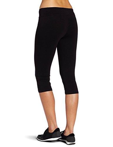 ABUSA Women's Cotton Capri Workout Pants High Waist Leggings Tummy Control