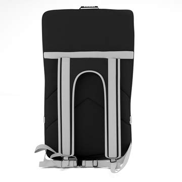 Black Car Seat Travel Backpack by Well Made Lifestyle