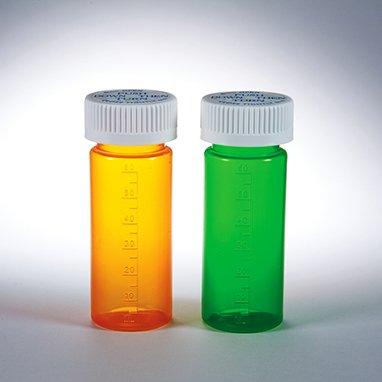 HCL Dual Purpose Vial with Cap, 16 dram/60mL (Amber)