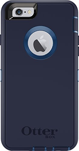 OtterBox DEFENDER iPhone 6/6s Case - Frustration Free Packaging - INDIGO HARBOR (ROYAL BLUE/ADMIRAL BLUE) (Outter Box Case For Iphone 6s)